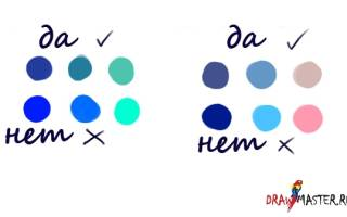 Как нарисовать облака красками