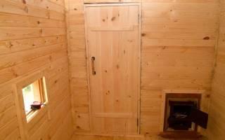 Чем утеплить дверь в бане