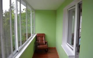 Отделка балконов гипсокартоном