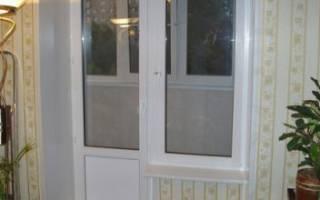 Балконная дверь с окном выбор и особенности монтажа