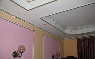 Покраска потолков цвета