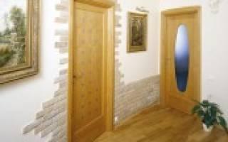 Кирпичики вокруг двери