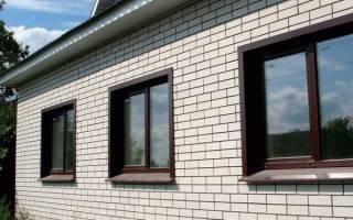 Установка металлических откосов на окнах