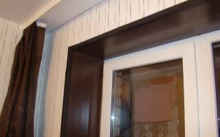 Чем отделать откосы на окнах внутри