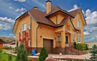 Кирпичный дом из красного кирпича
