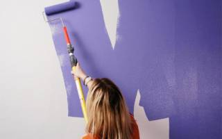 Можно ли акриловой краской красить стены