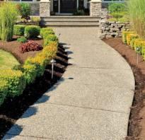 Садовая дорожка из подручных материалов