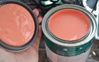Персиковый цвет краски для стен
