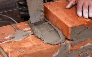 Рецепт цементного раствора