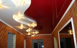 Прихожие потолки из гипсокартона