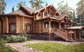 Уникальные дома из дерева все сезоны