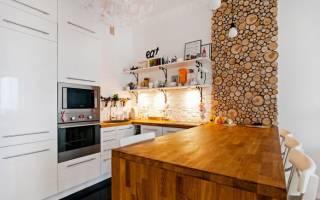 Квартира в стиле дерева