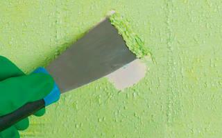 Как быстро снять краску