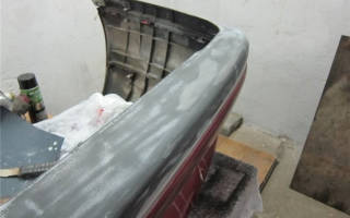 Грунтовка для пластика под покраску