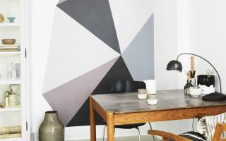 Оригинальные идеи покраски стен