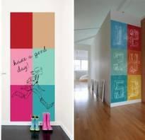 Краска для рисования мелом на стене