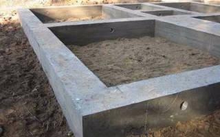 Какая марка бетона для фундамента
