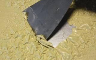 Очистка поверхностей от краски