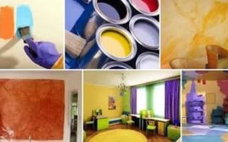 Можно ли красить штукатурку краской