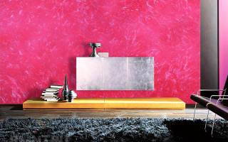 Декоративная краска для стен как наносить