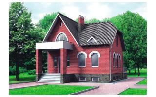 Маленькие кирпичные дома фото