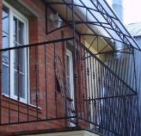Изготовление каркаса для балкона