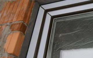 Щели в пластиковых окнах как заделать