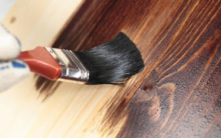 Покраска бревенчатого дома внутри