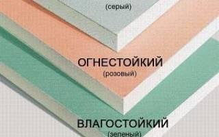 Керамическую плитку на гипсокартон