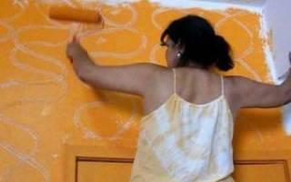 Покраска под мрамор своими руками