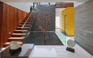 Сочетание дерева и стекла