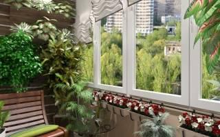 Обустройство сада на балконе