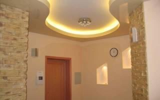 Потолок прихожая гипсокартон