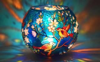 Какими красками можно рисовать на стекле