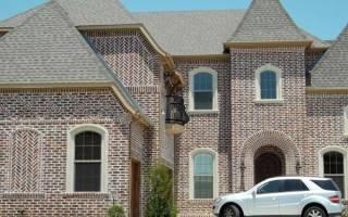 Как украсить кирпичный дом