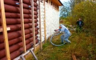 Полиуретановые утеплители для стен