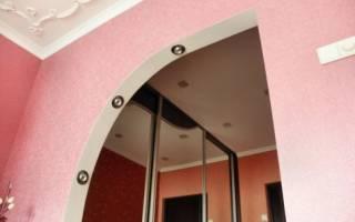 Дверная арка из гипсокартона своими руками