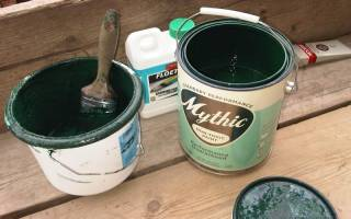 Как разбавлять краску для стен