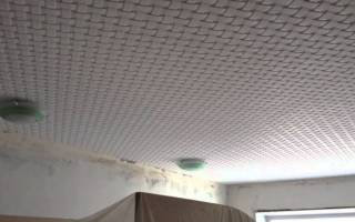 Материал потолочной плитки