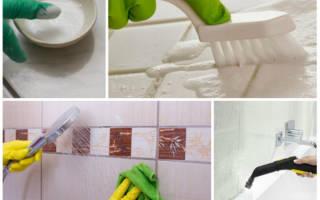 Очистка швов кафельной плитки