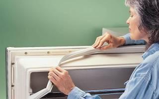Как самостоятельно заменить резиновый уплотнитель