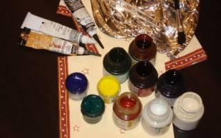Какими красками лучше рисовать на стекле