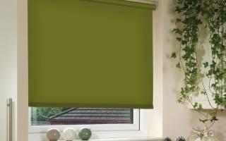 Как собрать рулонные шторы