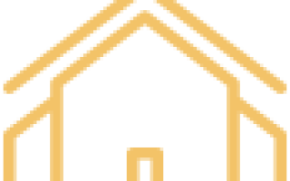 Дом из красного кирпича с белыми швами
