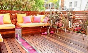 Скамейка с ящиком на балкон своими руками