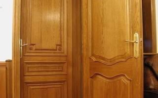 Дверь из двп своими руками