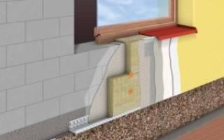 Материалы для утепления фасада