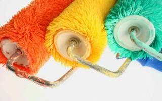 Валики для покраски размеры