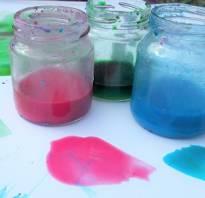 Как приготовить краски в домашних условиях
