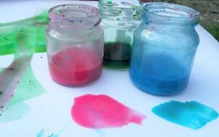 Изготовление краски своими руками